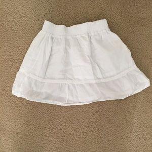 Dream Out Loud White Mini Skirt